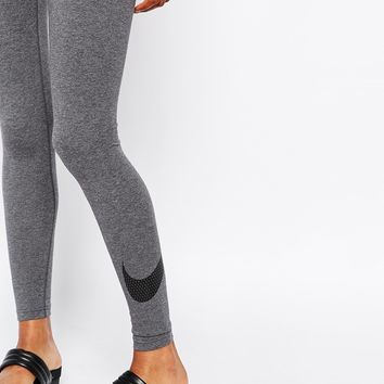 Nike Club Large Swoosh Leggings