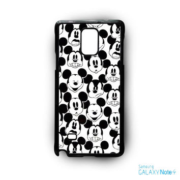 Mickey Mouse Wallpaper for Samsung Galaxy Note 2/Note 3/Note 4/Note 5/Note Edge phone case