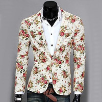 Men's Casual Fashion Blazer - OuterInner
