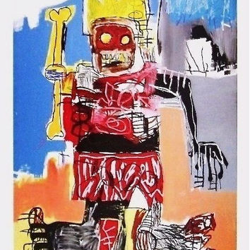 Untitled (1982), Exhibition Poster, Jean-Michel Basquiat