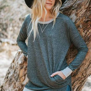 The Elbow Patch Tunic