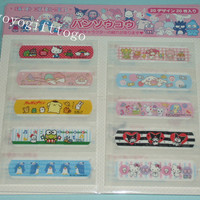 Sanrio Hello Kitty & all Sanrio characters Band-Aid / First Aid Bandages 20Count