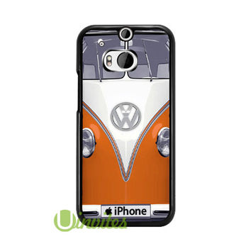 Volkswagen VW Van Orang  Phone Cases for iPhone 4/4s, 5/5s, 5c, 6, 6 plus, Samsung Galaxy S3, S4, S5, S6, iPod 4, 5, HTC One M7, HTC One M8, HTC One X
