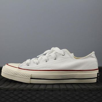 Converse 1970s Fashion Canvas Flats Sneakers Sport Shoes White