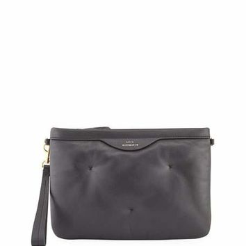 Anya Hindmarch Chubby Stitched Crossbody Pouch Bag