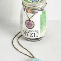 Handmade & DIY Crafting Crystals DIY Necklace Kit by ModCloth