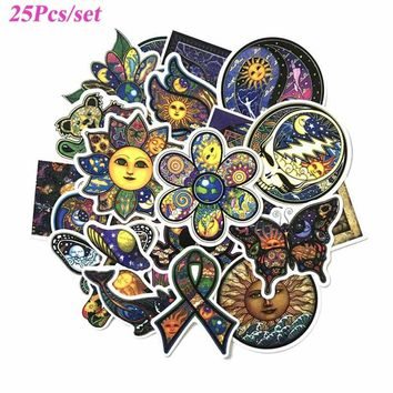 New World Peace Illustrated Art Graffiti Waterproof Stickers for Car Laptop Luggage Skateboard Motorcycle Decal Kids Toy Sticker