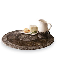 GG Collection Lazy Susan & Syrup Pitcher