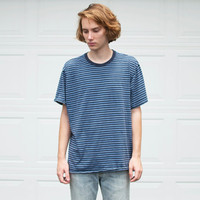 Vintage Banana Republic Oversized Striped Tee