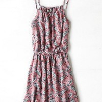 AEO Women's Dont Ask Why Cinched Slip Dress