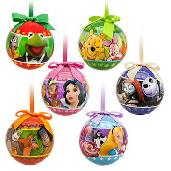 World of Disney Decoupage Ornament Set | Disney Store