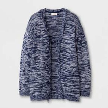 Girls' Open Layering Sweater - Cat & Jack™ Navy