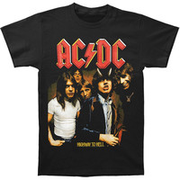 AC/DC Men's  Highway To Hell T-shirt Black
