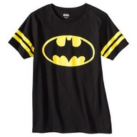 Men's Vintage Batman Graphic Tee Shirt - Black