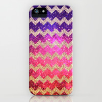 Glitter Space - for iphone iPhone & iPod Case by Simone Morana Cyla