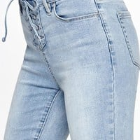 PacSun Lasso Blue Perfect Fit Jeggings at PacSun.com