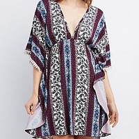 OPEN-BACK KAFTAN DRESS