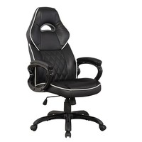 Techni Mobili Sport Race Desk Chair (Black)