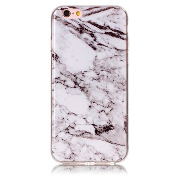 Gorgeous Marble Stone Case Cover for iPhone 7 7Plus & iPhone 6s 6 Plus & iPhone X 8 Plus with Gift Box