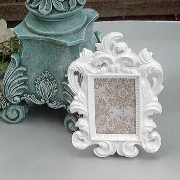 Ornate Picture Frame Wedding Table NUMBERS Wedding Favors  2x3 Set of 5