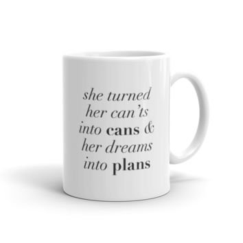 Can'ts Into Cans Mug