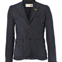 IncotexCotton-Blend Blazer|MR PORTER