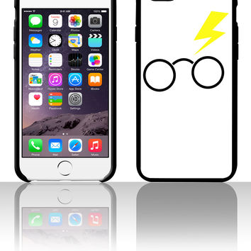 nerdy boy glasses and lightning strike 5 5s 6 6plus phone cases