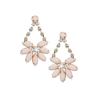 Pastel Pink Flower Drops - Accessories