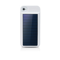 Eton Mobius Rechargeable Battery Case with Solar Panel for iPhone 4/4S