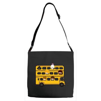 Harry Potter Schoolbus Adjustable Strap Totes