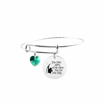 Adjustable Bangle With Crystals From Swarovski - Shots You Don'T Take