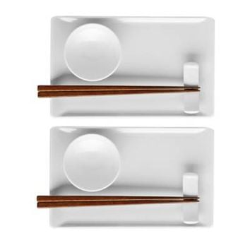 Rosenthal Thomas Loft 8-Piece Sushi Set in White