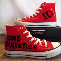 Create Your Own One Direction Converse All by CustomConverseUK