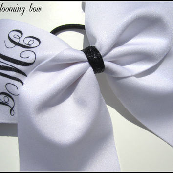 Cheer Bow with Monogram