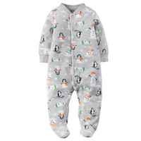 Baby Boy Carter's Print Fleece Sleep & Play