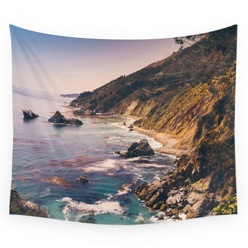 Society6 Big Sur Pacific Coast Highway Wall Tapestry