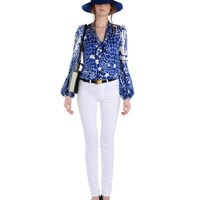 Long sleeve shirt Women - Tops and blouses Women on EMILIO PUCCI Online Store