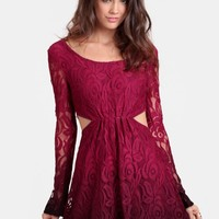 Closer Lace Dress By Black Swan
