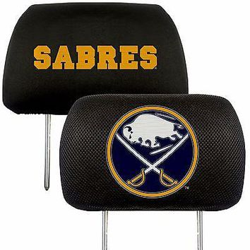 Buffalo Sabres 2-Pack Auto Car Truck Embroidered Headrest Covers