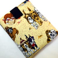 Dog Friends Tablet Case/Animal Lover Case/ Kindle Fire Case/ Galaxy Cover/ Google Nexus Case/ iPad Case