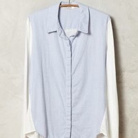 Blocked Chambray Buttondown