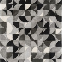 Brilliance Area Rug Gray