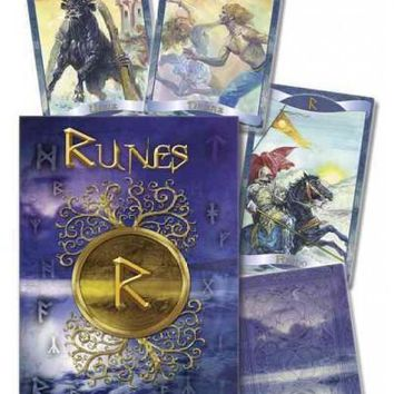 Runes Oracle Cards (MULTILINGUAL)