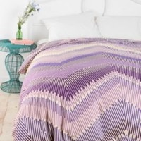 UrbanOutfitters.com > Magical Thinking Linear Chevron Duvet Cover