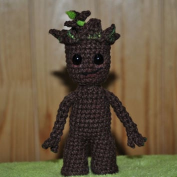 groot - baby groot - baby groot amigurumi - guardians of the galaxy