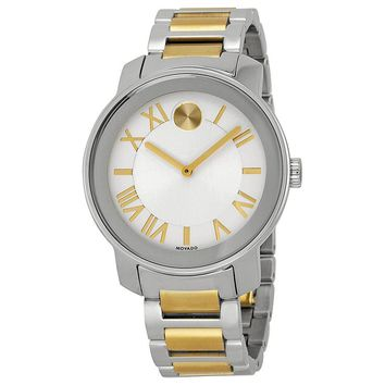 Movado Bold Stainless Steel Unisex Watch 3600208