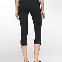 performance striped cropped leggings | | Calvin Klein