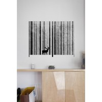 Blik Wall Decal - To Scan a Forest