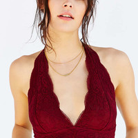 Out From Under Lace Halter Bra | Urban Outfitters