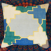 Decorative Pillow Cases Cotton Materal Square Cushion Covers Home Decor Traditional Indian Cotton Flatweave Handmade Pillow Cases